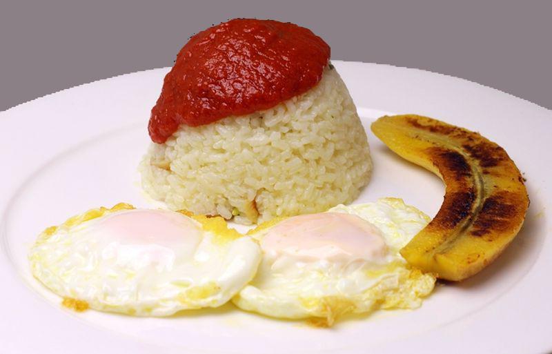 Receta de arroz a la cubana | La Vieja Bodega