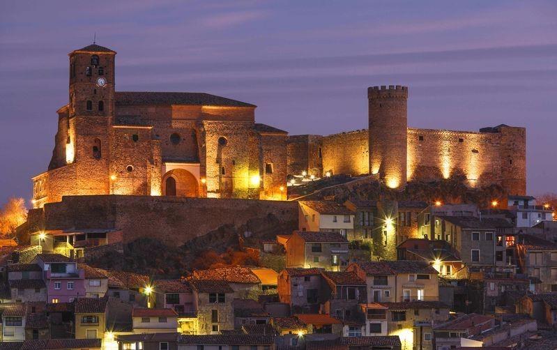 El Castillo de Cornago   La Vieja Bodega