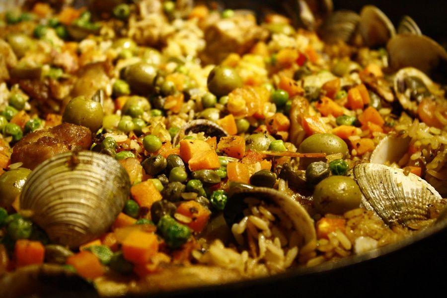 receta arroz caldoso con marisco thermomix